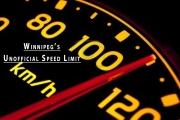 Winnipeg's Unofficial Speed Limit