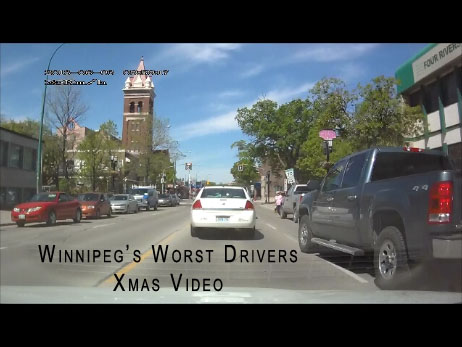 Videos of Winnipeg drivers driving badly