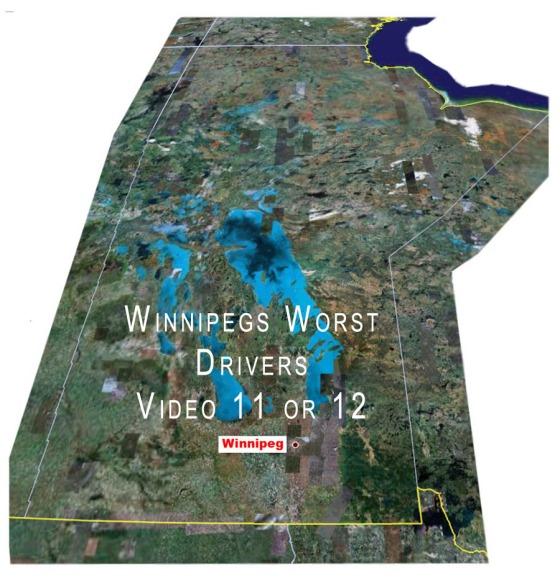 Winnipeg drivers driving badly