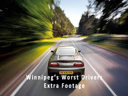 Winnipeg Drivers driving badly
